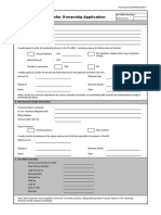 Transfer Ownership Form