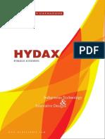 HYDAX Catalogue
