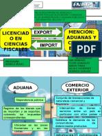 Aduanas y Comercio Exterior