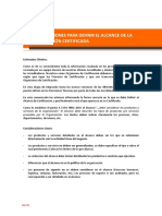 Guía de Formulación de Alcances - Rev03
