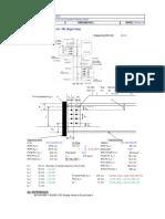 EC3 - Fin Plate Connection Design Checks