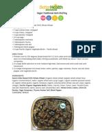 Vegan Traditional Herb Stuffing recipe