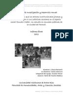 Informe Final PIDA Significaciones Actores Institucionales