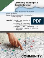 Exercise 3 Community Mapping