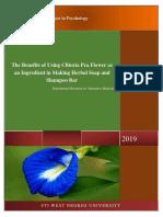 Clitoria Pea Flower