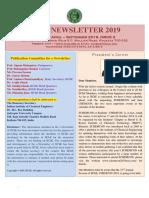 E-Newsletter, Issue 2, 2019
