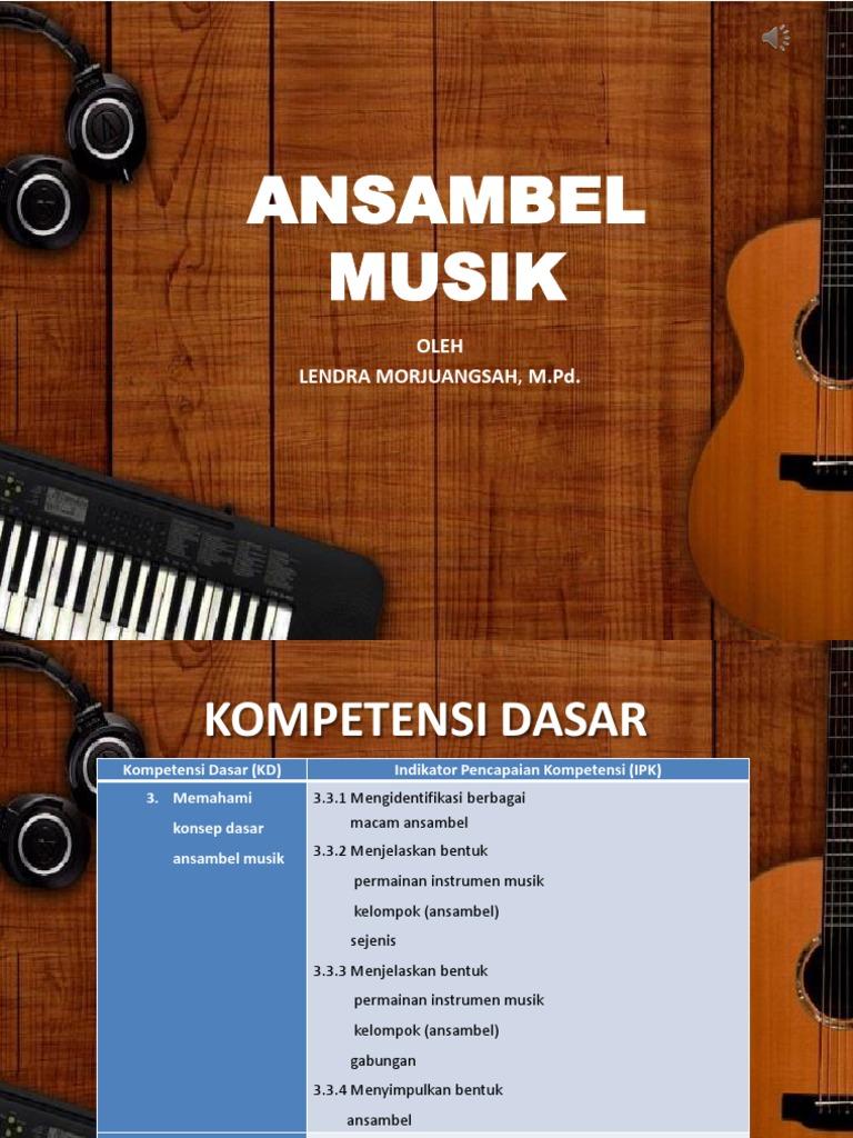 Ansambel Musik Ppt