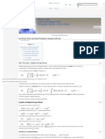 Nonlinear Finite Elements_Weighted Residual Methods - Wikiversity