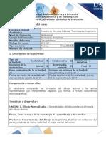 Guia de actividades y rubrica de evaluacion - Pre-tarea - Generalidades del dibujo técnico (1)