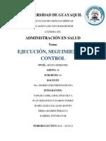 Control Administracion