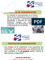 Presentacion Politica de Humanizacion Estrategia Virtual ESE HLCI