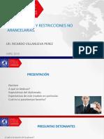 Presentación Regulaciones y Restricciones No Arancelarias