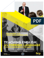Teaching English as Foreign Language Teaching