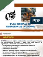 Plan de Emergencia Cuajone 2019