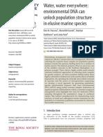 Parsons Et Al 2018 - EDNA for Study of Marine Mammals