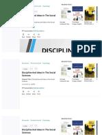 Tuxdoc.com Discipline and Ideas in the Social Sciences