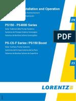 Lorentz Ps Manual en-fr-es