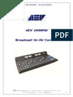 AEV Synapse User Manual Eng (2019)