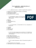 Preguntas Saber Pro Derecho Penal (1)
