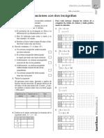 3ero Sistemas de Ecuaciones