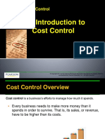 3.1 Introduction to Cost Control PP