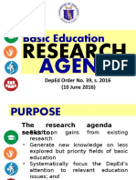 1.2 DepEd Research Agenda