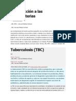 Introducción a Las Micobacterias