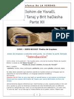 12. IHVH YESHUA - El Elohim de Israel Entre El Tanaj y El Brit HaDasha - Parte XII - La Piedra de Tropizo