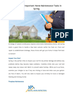 Follow These Important Home Maintenance Tasks in Spring.docx