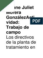 Ivonne Juliet Morera GonzálezActividad