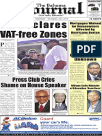 bahama journal - vat free zones