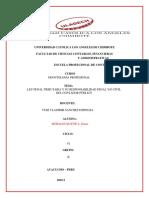 Deontologia Ley Tributaria