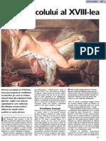 Pictura Sec. Al XVIII-Lea