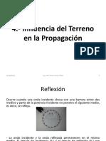 4.- Influencia Del Terreno en La Propagación