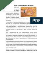 Conservación y Almacenamiento de Granos de Cereales
