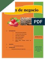 Producción y Comercializacion de Néctar de Fresa Con Chía Endulzado Con Stevia