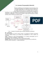 Chapitre III Les Automates Programmables Industriels 201718