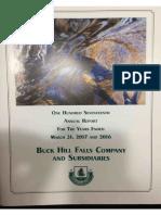 BUHF 2017 Annual Report