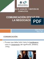 Comunicacion en La Negociación