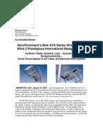 AV New AVX Series Wind Turbine
