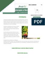 Fitoterapia e Receitas - Florais