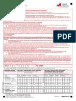 Health Warranty Form