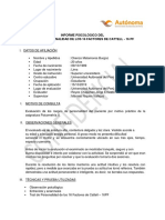 16 Pf Informe