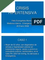 Crisis Hipertensiva Dr. Féliz Evangelista