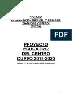 P.E.C. Curso 2019-2020