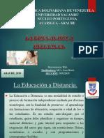 Educaion a Distancia