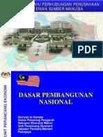 (5) Dasar pembangunan nasional