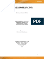 Glosario procedimiento tributario