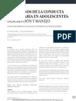 Tca Adolescentes Español