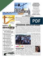 COSMO NEWS November 10, 2019 Edition